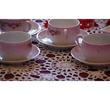 tea party. Photographic Print