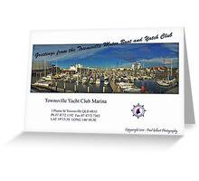 Townsville Yacht Club Marina Greeting Card