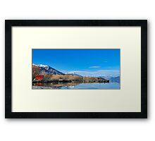 LOTR Glen Orchy NZ Framed Print