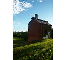 Retort House of the Scottish Gympie Gold Mines  Photographic Print