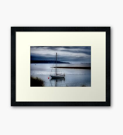 Shimmering Sea Framed Print