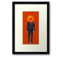 half man half origin Framed Print
