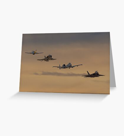 Heritage Sunset Greeting Card