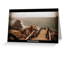 Boardwalk, Victor Harbour Greeting Card