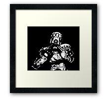 Psycho (Borderlands) Framed Print