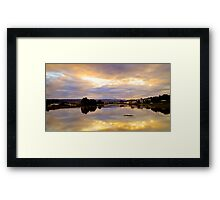 """Morning Flood"" Framed Print"