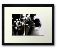 When BLING goes wrong Framed Print