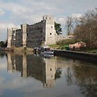 Newark Castle by Mark Baldwyn
