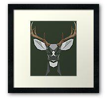 Bucky McBuckin Framed Print