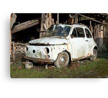 Abandoned Rusty Car Canvas Print