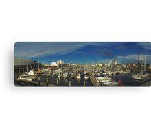 Townsville Yatch Club - Marina Canvas Print