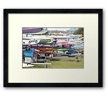 surfski, surfski, where fore art thou  Framed Print