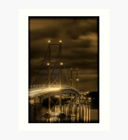 Forth Road Bridge Art Print