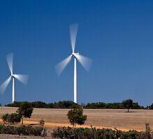Cervantes Wind Farm by Sandra Chung