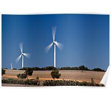 Cervantes Wind Farm Poster