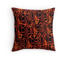 Burn For You Collage Throw Pillow