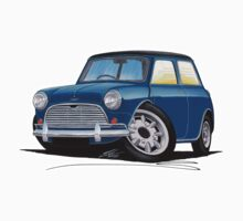 Austin Mini Cooper S Blue by Richard Yeomans