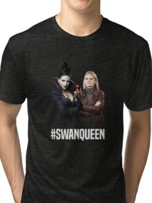 Once Upon A Time: #SWANQUEEN Tri-blend T-Shirt