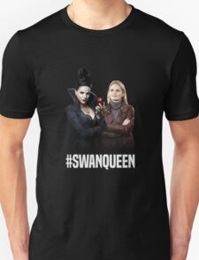 Once Upon A Time: #SWANQUEEN Unisex T-Shirt