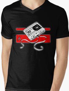 Tape A Mens V-Neck T-Shirt