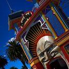 Luna Park, Melbourne by Paul Tait