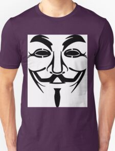 Anonymous Mask Silhouette T-Shirt