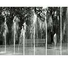 Water Fountains in Stamford park Photographic Print