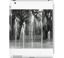 Water Fountains in Stamford park iPad Case/Skin