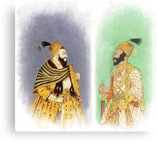 Mughal Emperors  Metal Print