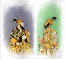 Mughal Emperors  Poster