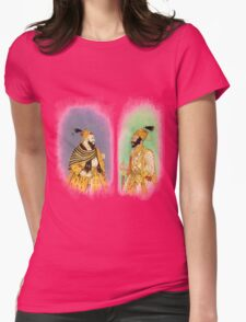 Mughal Emperors  Womens Fitted T-Shirt