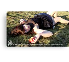 Death of Snow White Canvas Print
