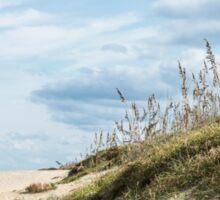 Beach Grass on Dunes Sticker