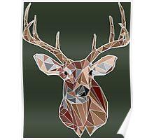 Geometric Buck Poster