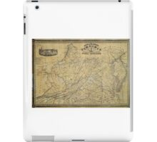 Map of the State of Virginia by West & Johnson (1864) iPad Case/Skin