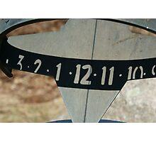 Sun dial Photographic Print
