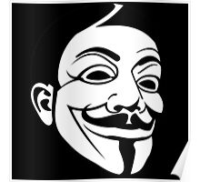 Guy Fawke / Vendetta / Anonymous Poster