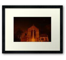 Light of the Church Framed Print