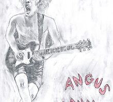 Angus Young by Peter Allton
