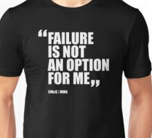 Conor McGregor - Quotes [Failure] Unisex T-Shirt