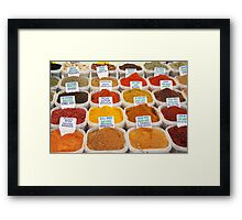 Spice Up Your Life! Framed Print