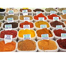 Spice Up Your Life! Photographic Print