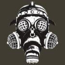 Steampunk/Cyberpunk Gas Mask #1A by Steve Crompton