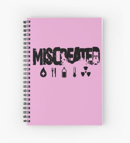 Miscreated Design 2 Pink (Official) Spiral Notebook