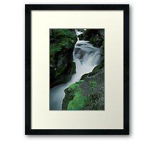 Avalanche Falls Framed Print