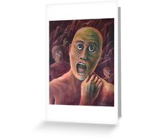 No Eyelids In Hell Greeting Card