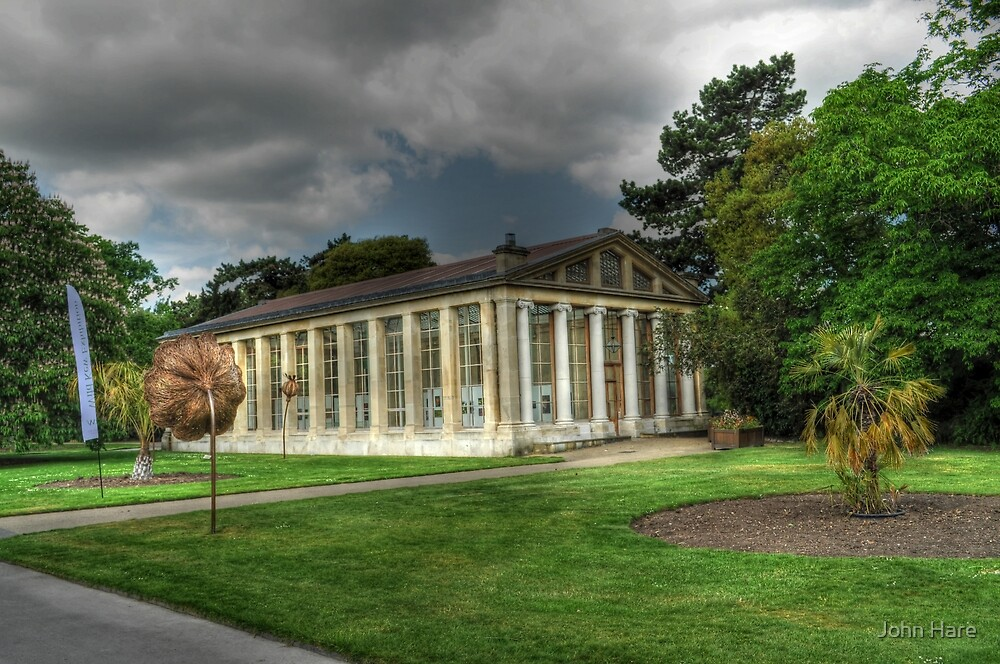Nash Conservatory at Kew Gardens, London by John Hare
