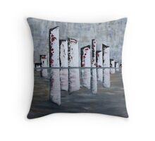 Urban Reflection Throw Pillow