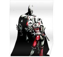 Batman and Harley Poster