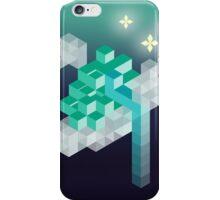 An isometric night iPhone Case/Skin